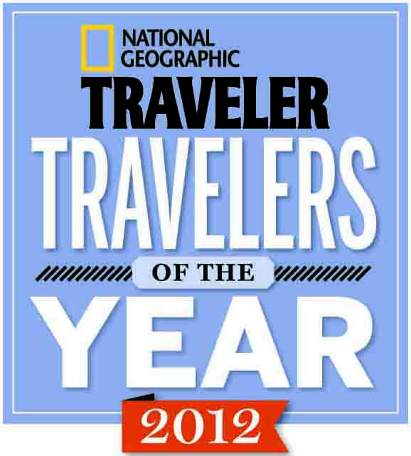 Diana was chosen as a National Geographic Traveler of the Year